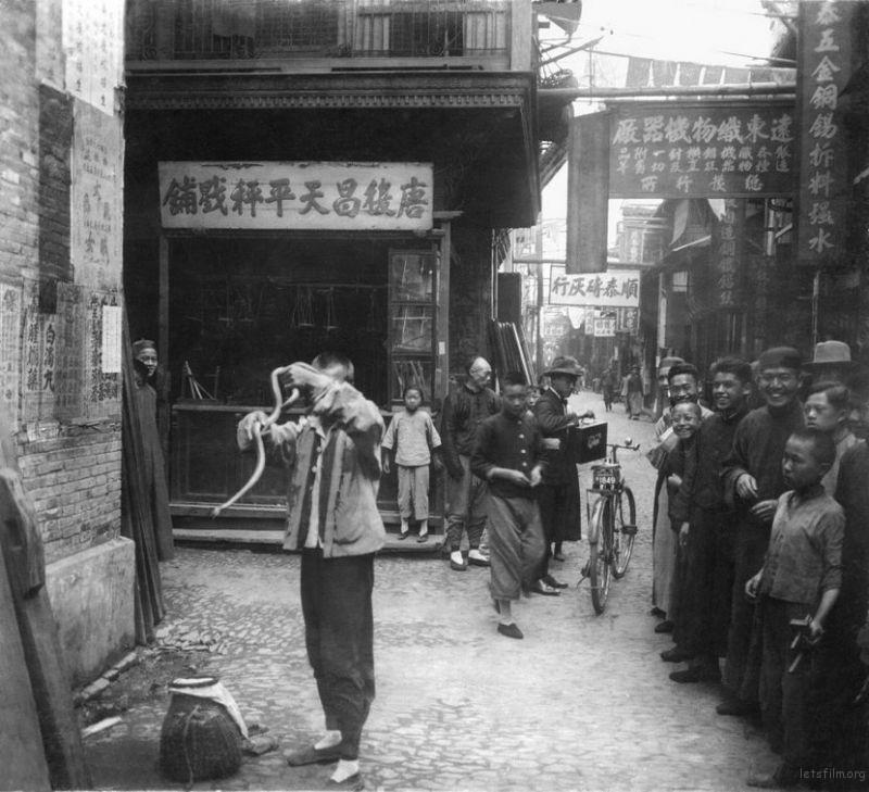 百年前的老上海 胶片永存的旧时光